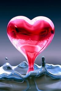 Vorschau 3d Herz Handy Logo