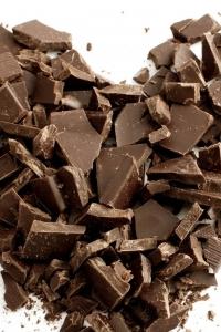 Vorschau Herz aus Schokolade Handy Logo