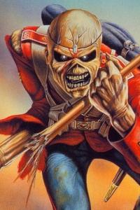 Vorschau Iron Maiden Handy Logo